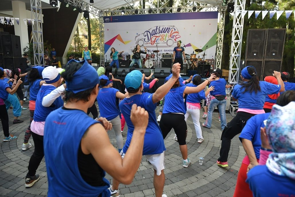 Zumba Party bersama Liza Natalia