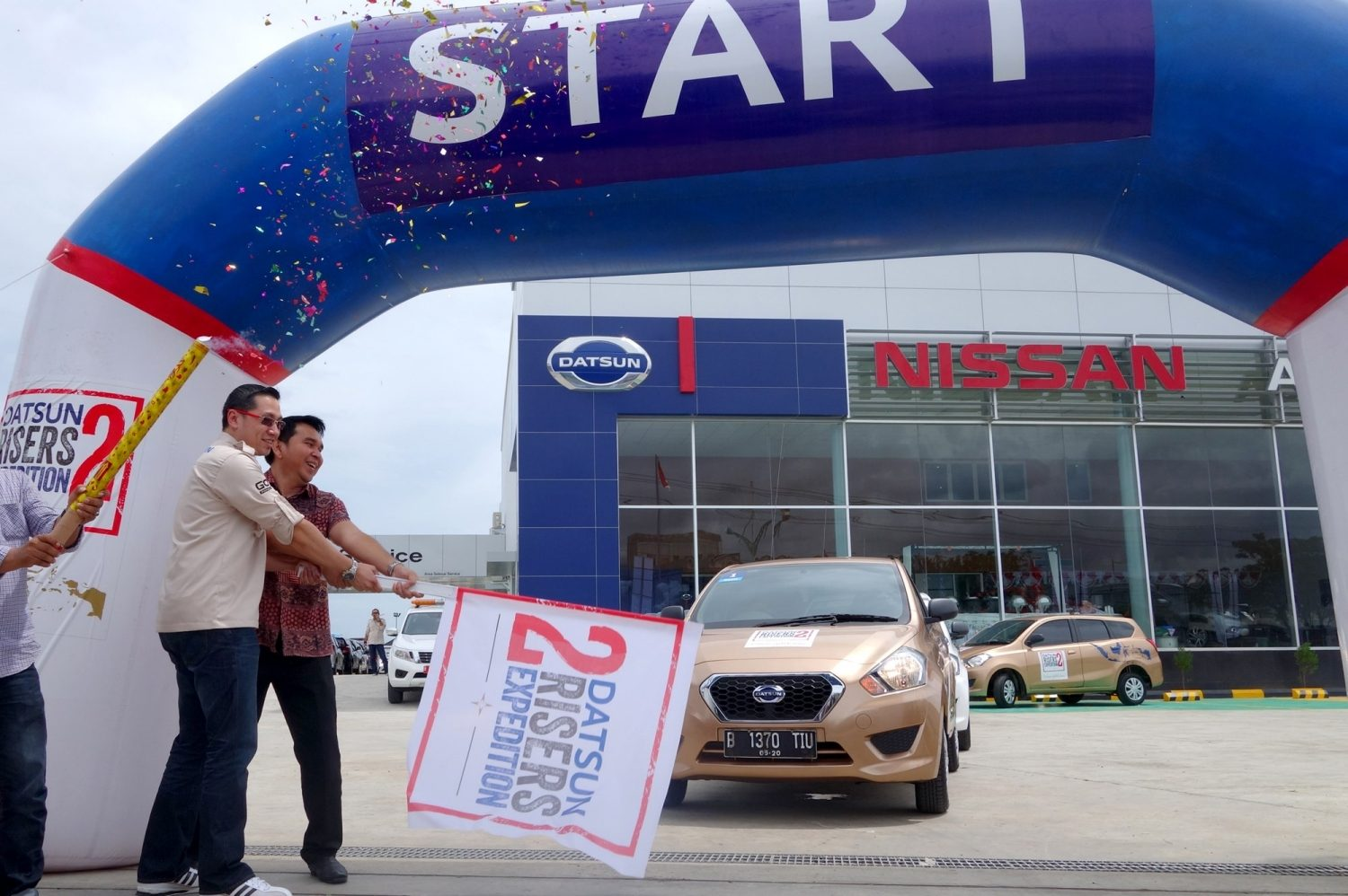 Peresmian Datsun Risers Expedition 2 - Aceh