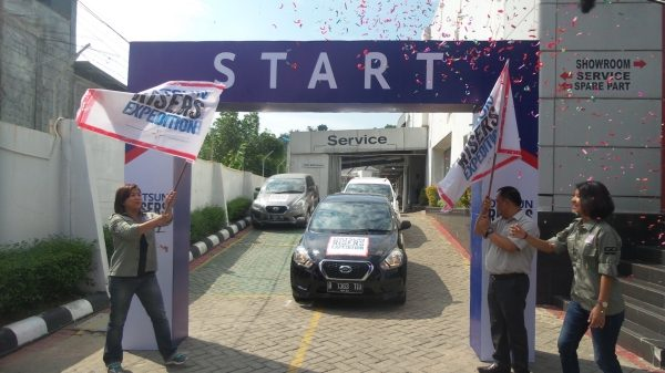 Flag off Datsun Risers Expedition Gelombang 3 Kalimantan