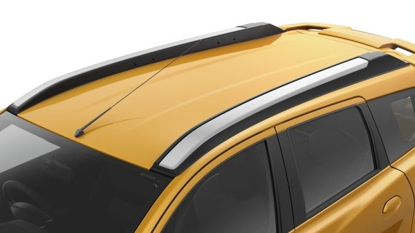 Datsun Cross roof rails shown from above