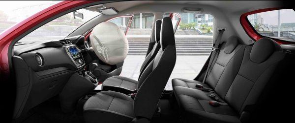 Datsun GO overhead cutaway