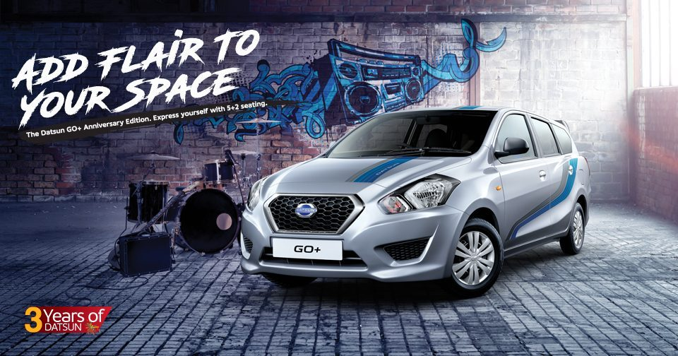 Datsun Celebrates 3rd Anniversary in India