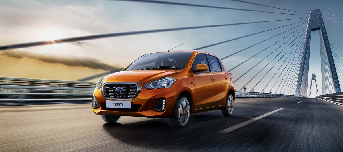 New Datsun Go exterior profile