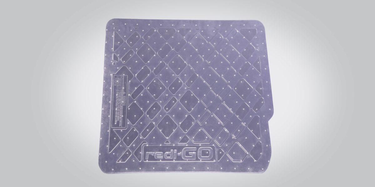 PVC Transparent Mat w/o Luggage Mat