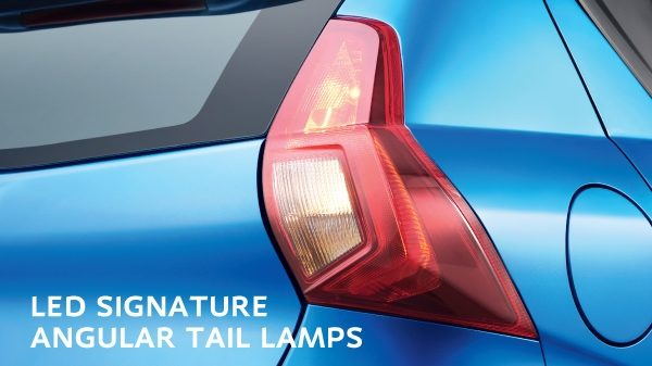 LED SIGNATURE ANGULAR TAIL LAMPS