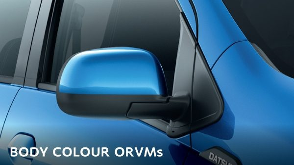 BODY-COLOURED ORVMs