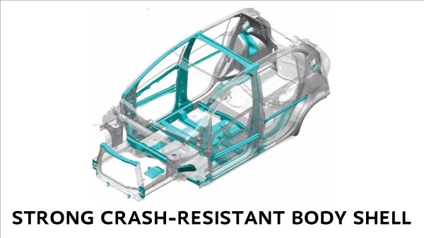 STRONG CRASH-RESISTANT BODY SHELL