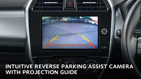 INTUITIVE REVERSE PARKING ASSIST CAMERA