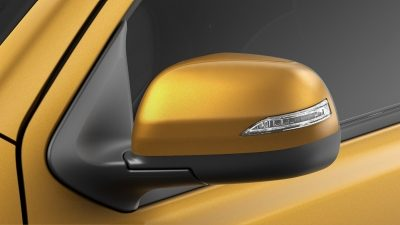 Datsun Cross power side mirror with integrated turn signal